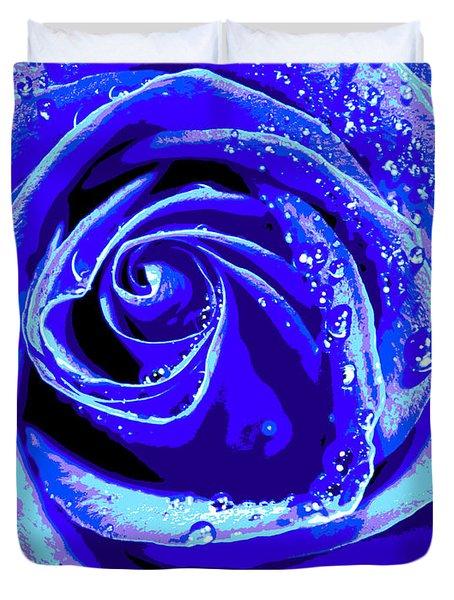 Forever In Blue Duvet Cover