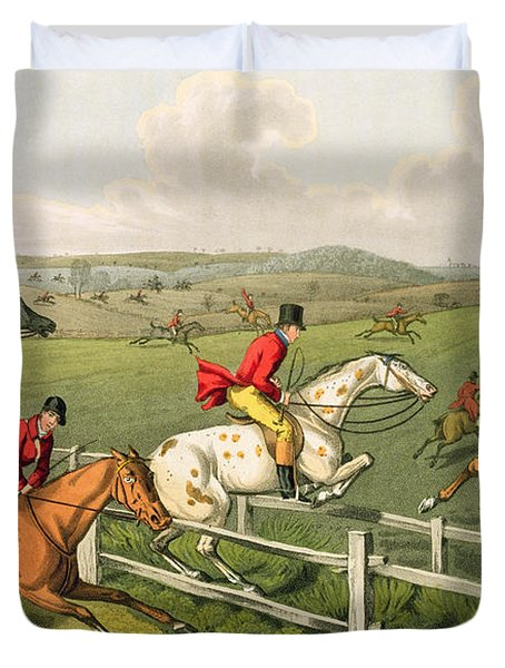 Fox Hunting Duvet Cover