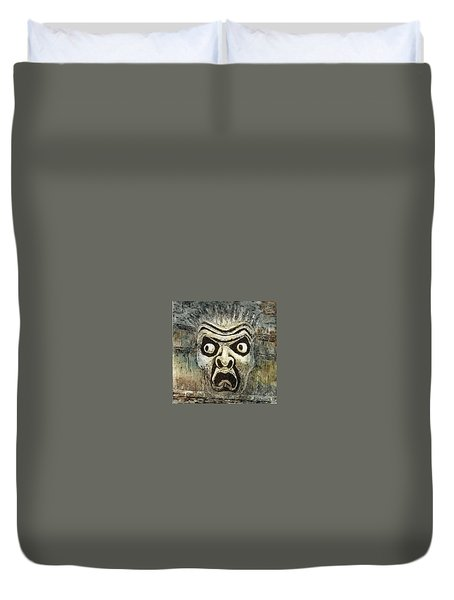 Fright Duvet Cover by Suzette Broad