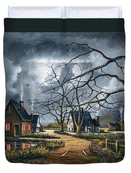 Gathering Storm Duvet Cover