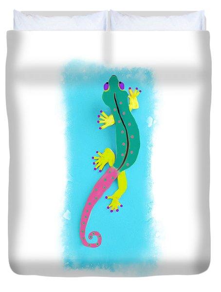 Gecko Two Duvet Cover