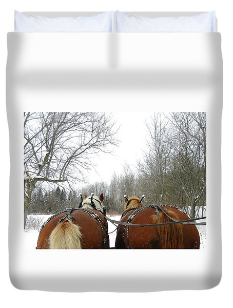 Gee And Haw Duvet Cover