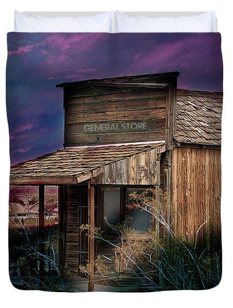 General Store Duvet Cover by Gunter Nezhoda