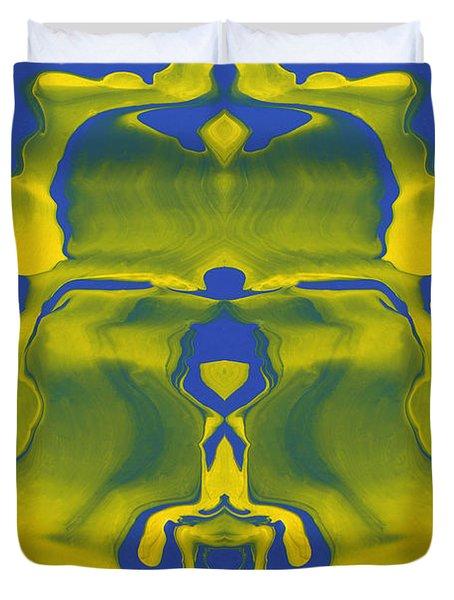 Generations 5 Duvet Cover by J D Owen
