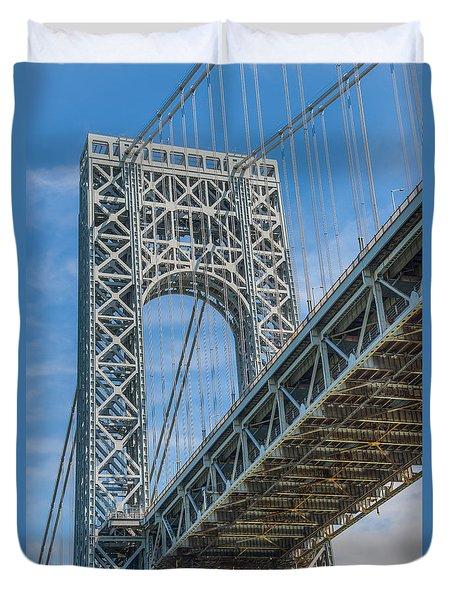 George Washington Bridge Duvet Cover