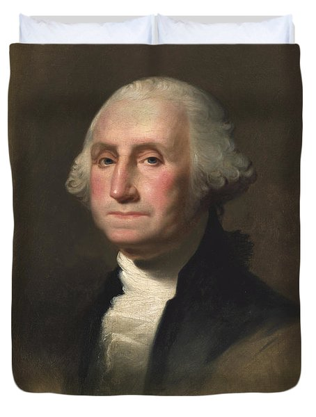 George Washington Duvet Cover by Rembrandt Peale