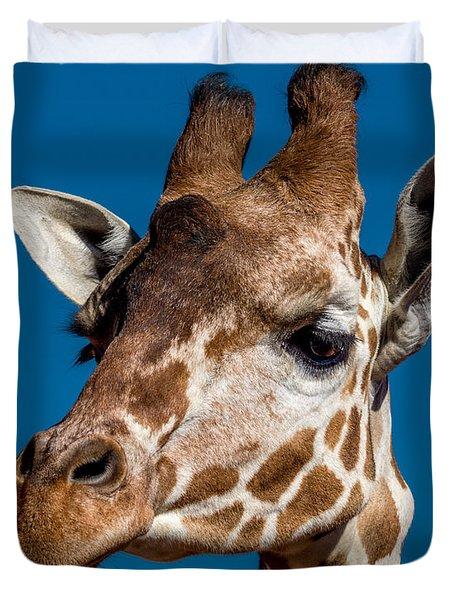 Giraffe Duvet Cover by Ernie Echols