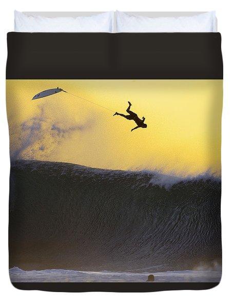 Gold Leap Duvet Cover by Sean Davey