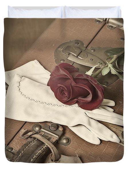 Goodbye Duvet Cover by Joana Kruse
