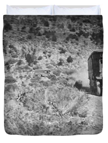 Goodyear Wingfoot Express Duvet Cover