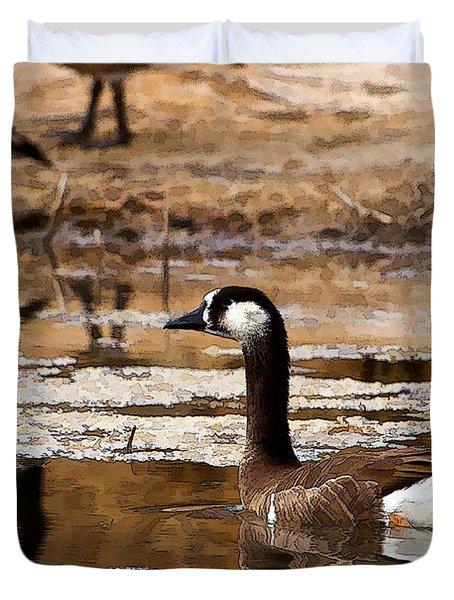 Goose Pond Duvet Cover