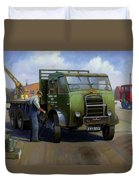 Gpo Foden Duvet Cover by Mike  Jeffries