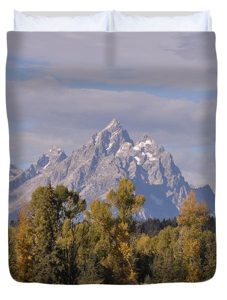 Grand Teton Duvet Cover