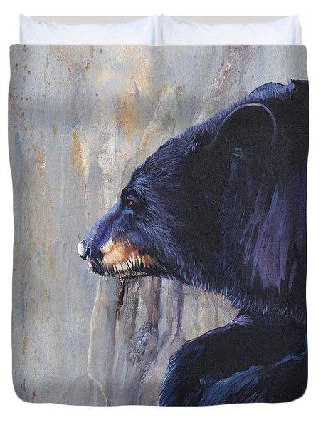 Grandfather Bear Duvet Cover