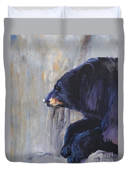 Grandfather Bear Duvet Cover
