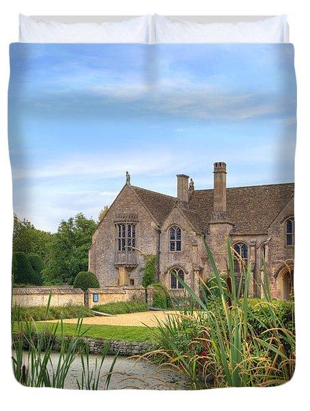 Great Chalfield Manor Duvet Cover by Joana Kruse