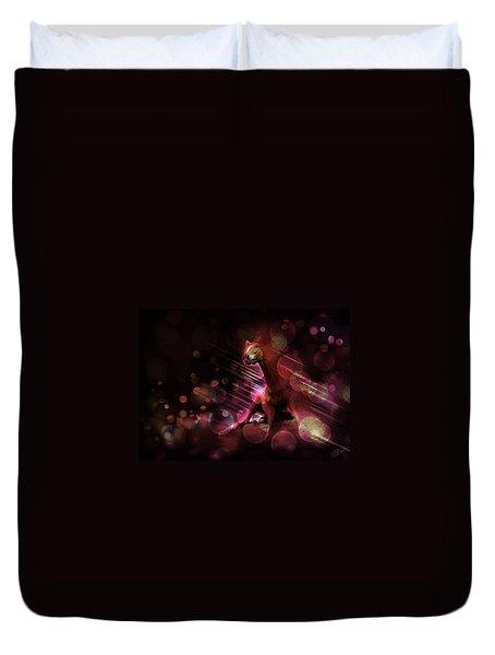 Hallucination Duvet Cover by Kate Black