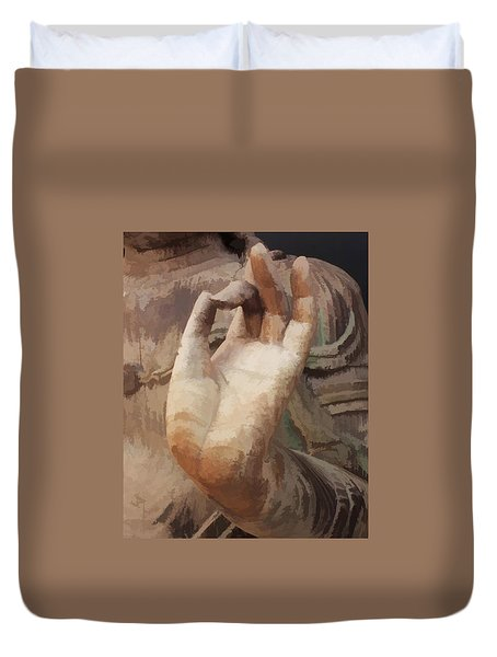 Hand Of Buddha C2014 Duvet Cover