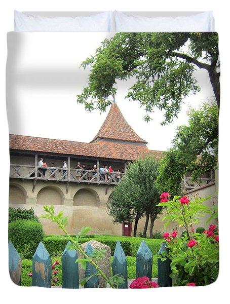 Harburg Castle Duvet Cover