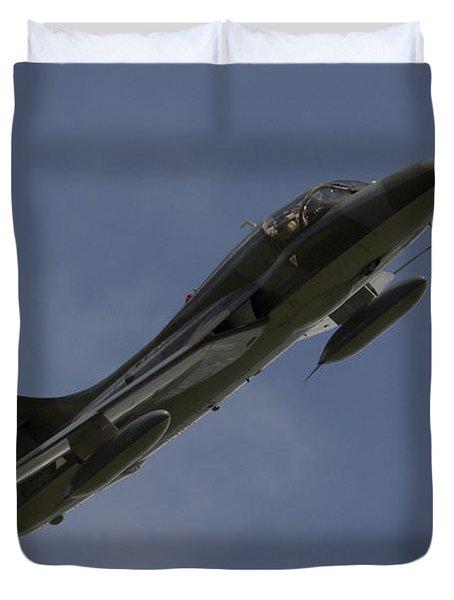 Hawker Hunter Duvet Cover by J Biggadike