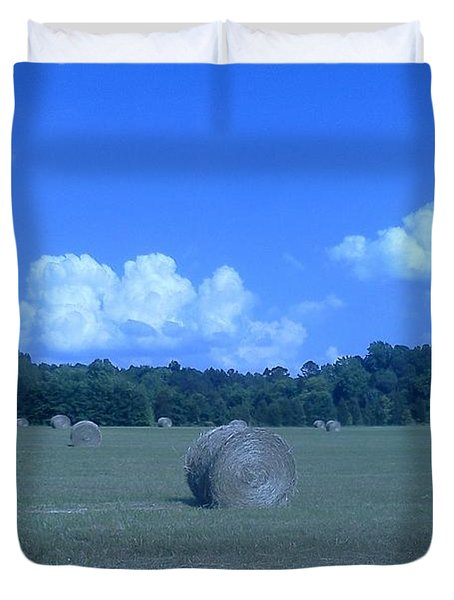 Haystacks Duvet Cover by Stacy C Bottoms
