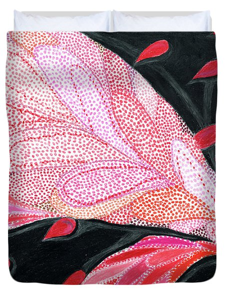 Heartpods Duvet Cover by Kim Sy Ok