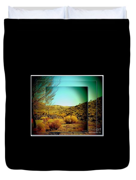 High Desert Duvet Cover