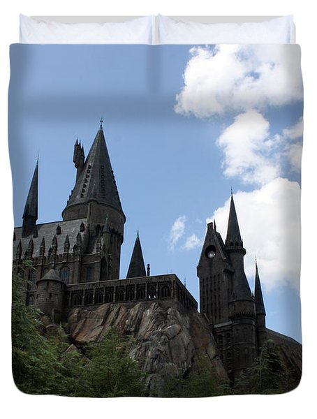 Hogwarts Castle Duvet Cover by David Nicholls