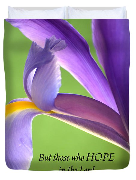 Hope Duvet Cover