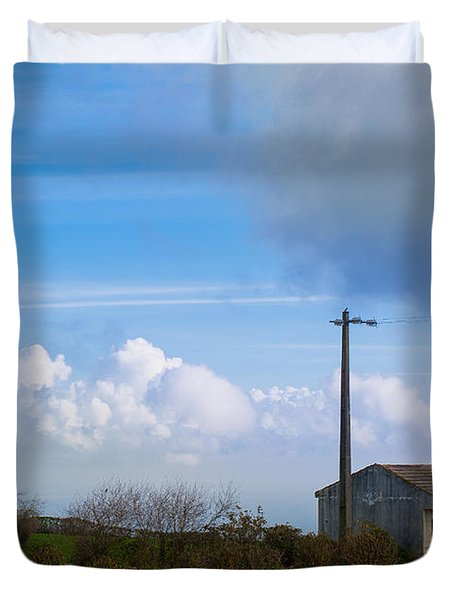 House At End Of The World Duvet Cover