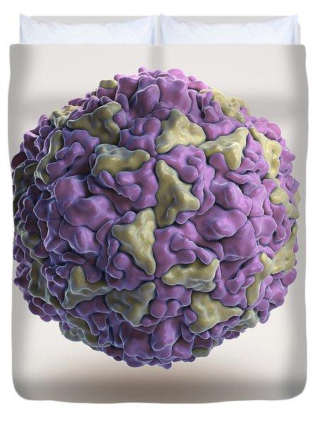 Human Rhinovirus Duvet Cover