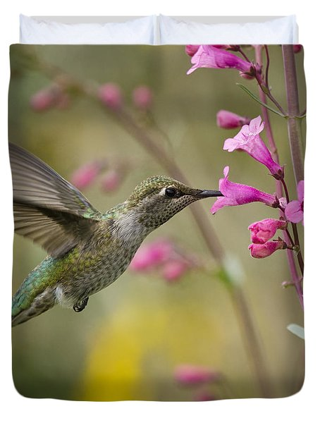 Hummingbird Heaven  Duvet Cover