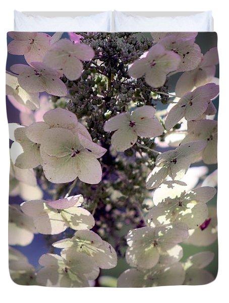 Hydrangea  Duvet Cover by Debra Forand