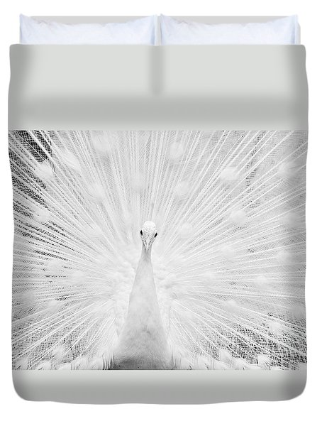 Duvet Cover featuring the photograph Hypnotic Power by Simona Ghidini