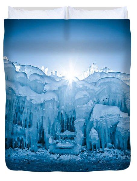Ice Castle Duvet Cover