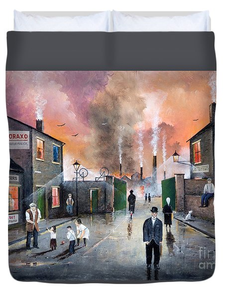 Images Of The Black Country Duvet Cover