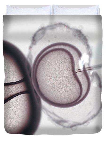 In Vitro Fertilization Duvet Cover