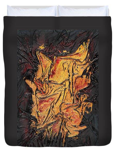 Internal Fire Duvet Cover