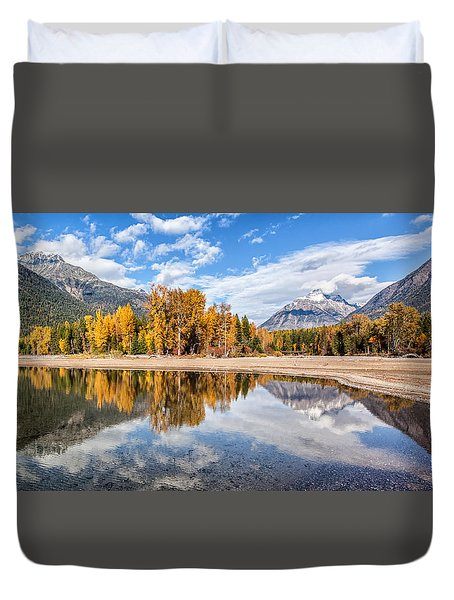 Duvet Cover featuring the photograph Into The Wild by Aaron Aldrich