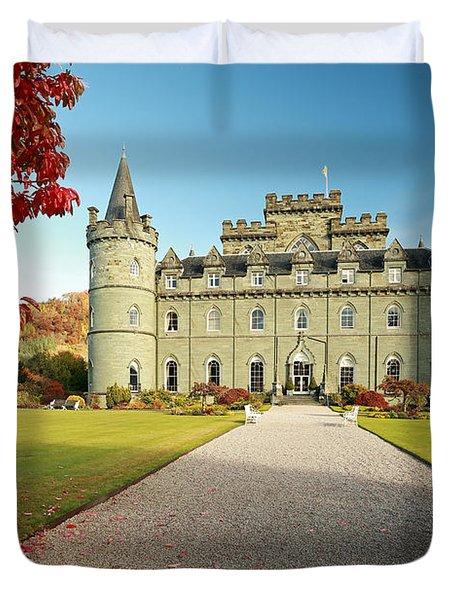Inveraray Castle Duvet Cover by Grant Glendinning