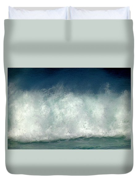 Iridescent Forces Duvet Cover by Amelia Racca