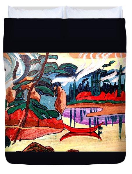 Island Fantasy Duvet Cover