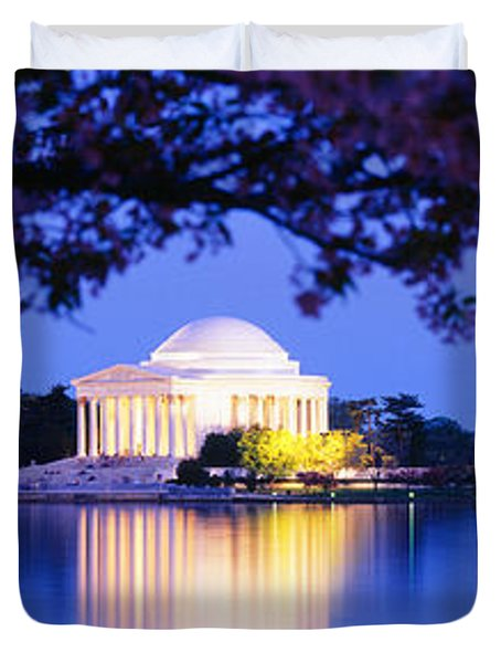 Jefferson Memorial, Washington Dc Duvet Cover