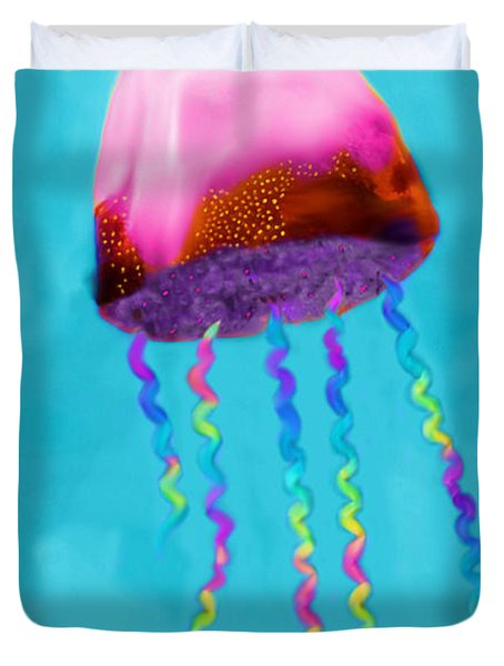 Jelly The Fish Duvet Cover