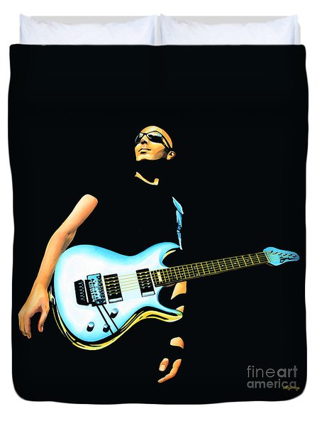 Joe Satriani Painting Duvet Cover