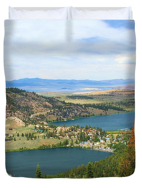 June Mountain View Duvet Cover