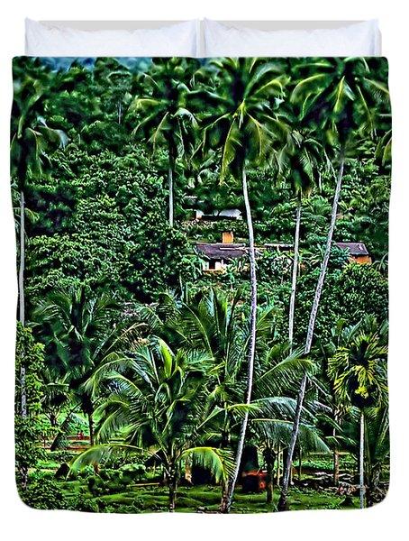 Jungle Life Duvet Cover by Steve Harrington
