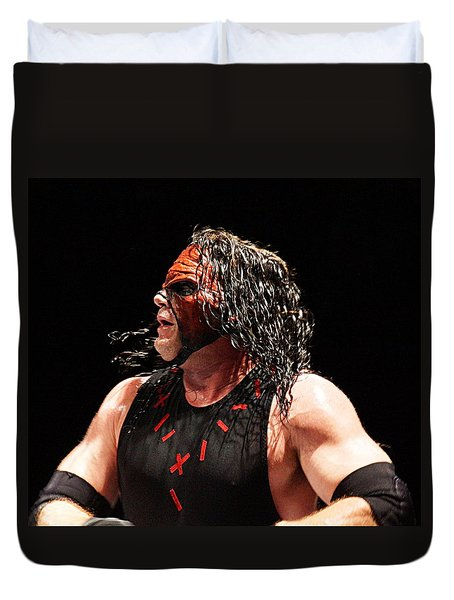 Kane The Wrestler Duvet Cover