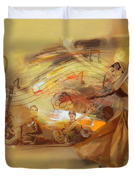Kathak Dancer 4 Duvet Cover