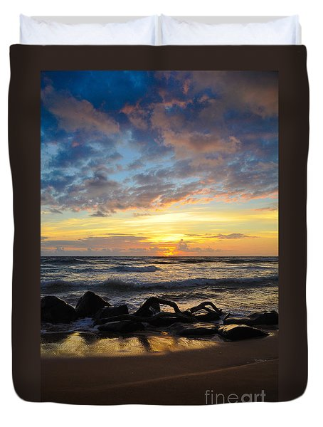 Kauai Sunrise Duvet Cover